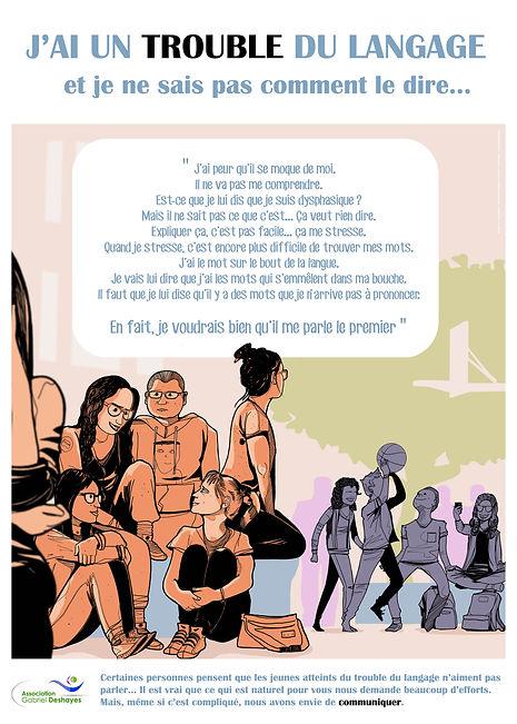 illustration dysphasie Gabriel Deshayes pierre cesca pedro junior illustrations