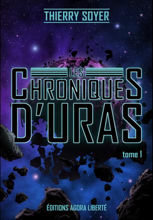 Couverture de roman Les Chroniques d'Uras . Visuel alternatif