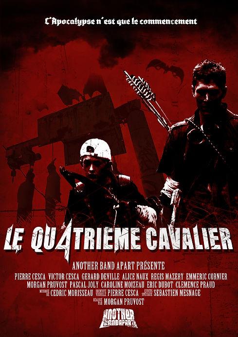 Affiche le quatrième cavalier 4 morgan pruvost pierre cesca pedro junior film fantastique Vendée