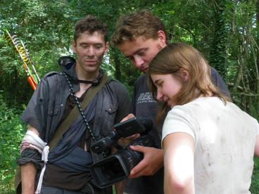 Le Quatrième Cavalier photo de tournage