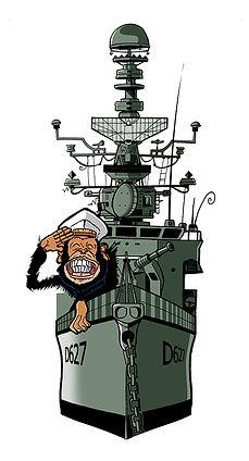 illustration marins Maillé-Brézé web-série matelos navire guerre pierre cesca pedro junior illustrations