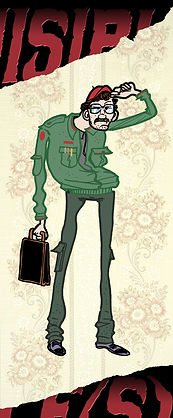 nuisibles victor pierre cesca film court-métrage pedro junior horreur rat illustration