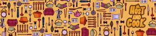 Visuel pour l'habillage de l'application Host and Cook
