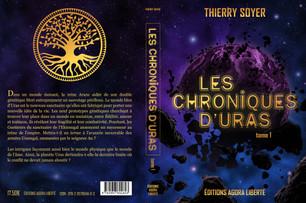 Couverture de roman Les Chroniques d'Uras