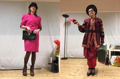 La Pooorte ! essayage des costumes