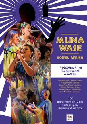 Affiche Muna Wase -Gospel Africa-