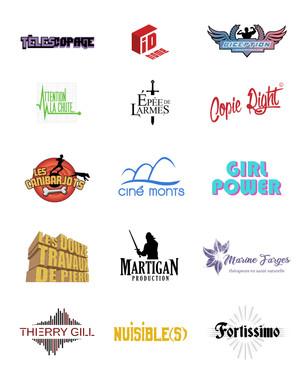 Réalisations de logotypes pour des projets variés