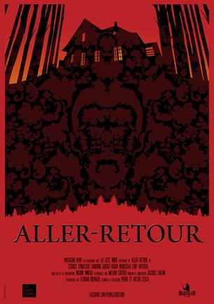 Affiche pour le court-métrage Aller-Retour