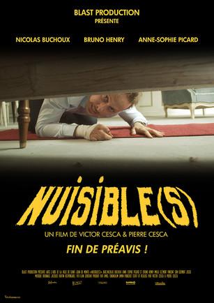 Affiche pour le court-métrage Nuisible(s)