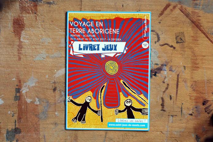 Livret-Jeux Voyage en Terre Aborigène