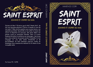 Couverture de roman - Saint Esprit