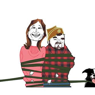 illustration dessin portrait couple pacs amoureux canicross chien pierre cesca pedro junior illustrations