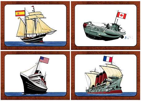 escape game Rennes bateaux illustration Team Party