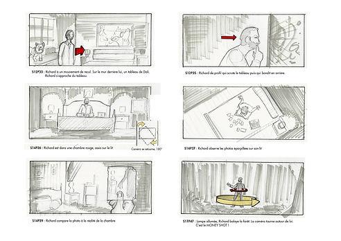 Aller Retour film fantastique court métrage victor pierre cesca pedro junior illustration