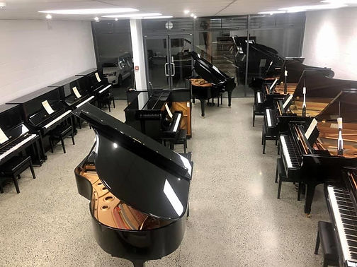 Auckland Used Piano Centre showroom