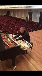 Glenn Easley piano tuner