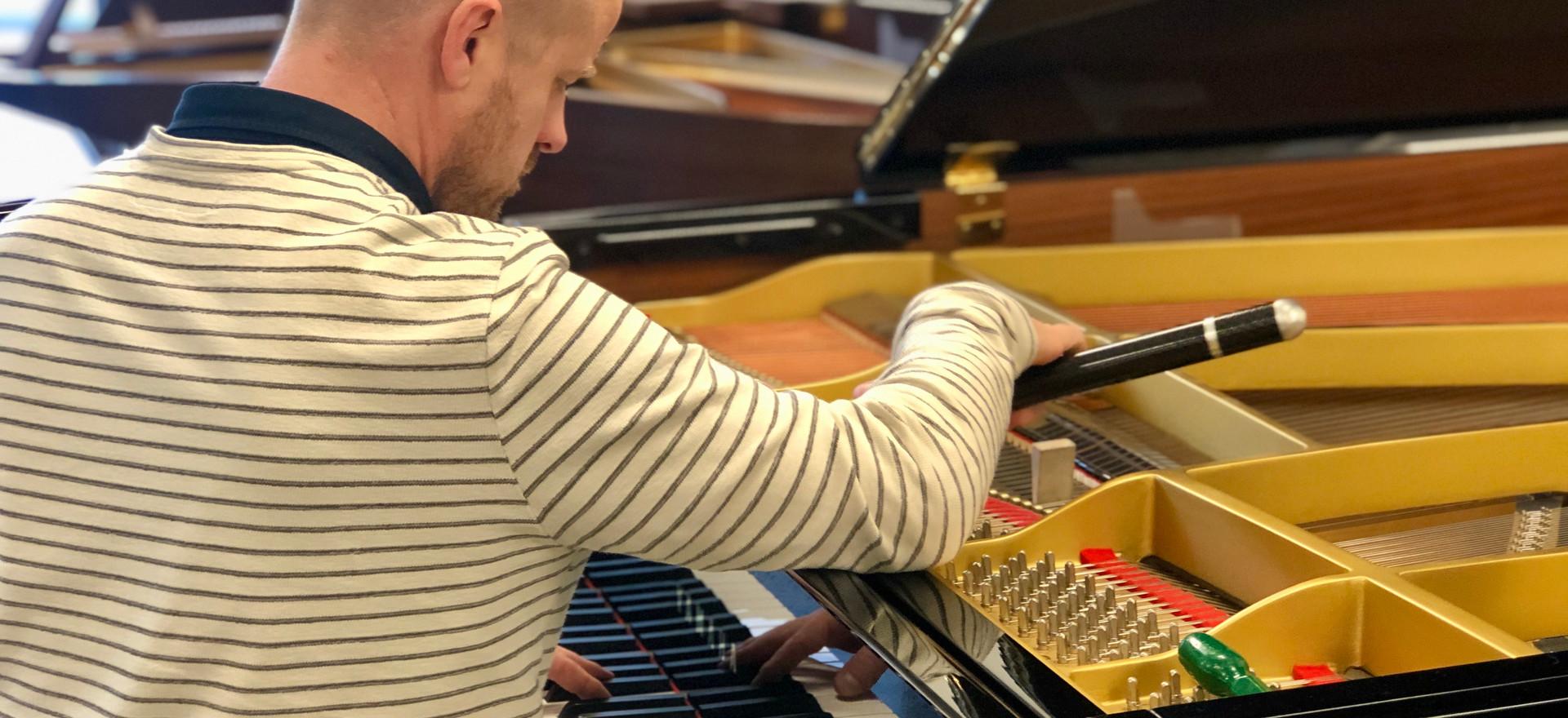 Anthony Shaw piano tuner