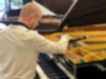 Anthony Shaw piano tuner