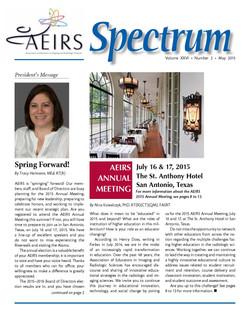 Spectrum, Volume 26 Number 2, May 2015