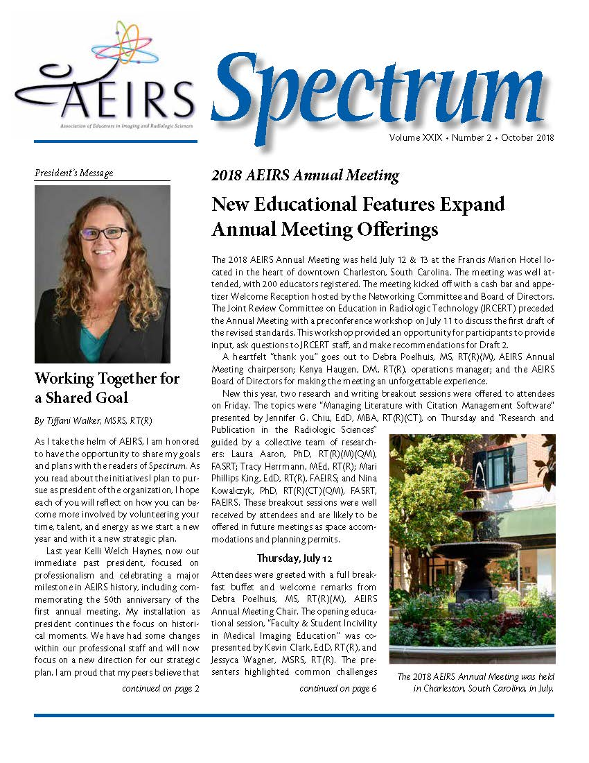 Spectrum, Volume 29 Number 2, October 20