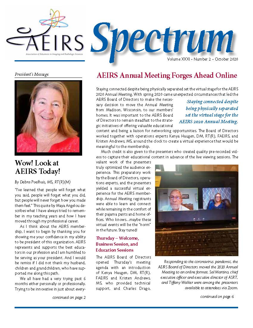 Spectrum, Volume 31 Number 2, October 20