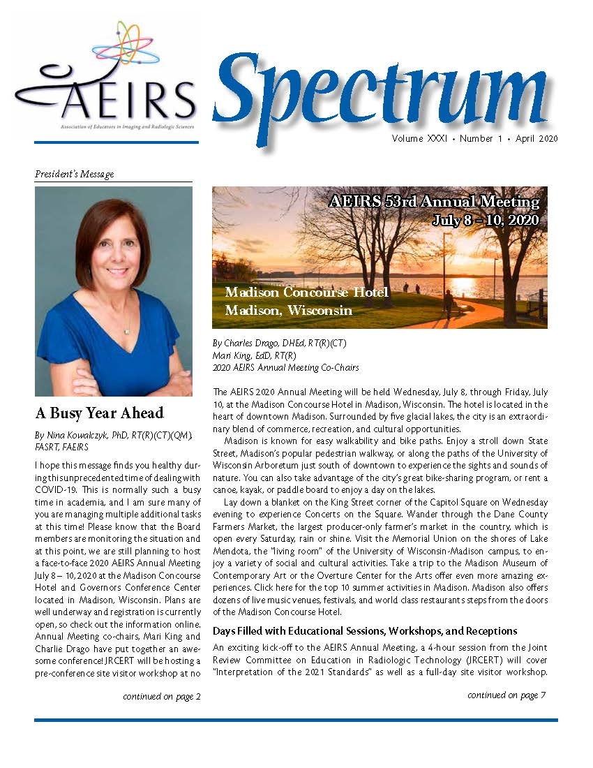 Spectrum, Volume 31 Number 21, April 202