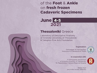 [New dates]1st Seminar on tendon transfers and ligament reconstruction of the Foot and Ankle on...