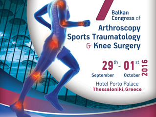 7th Balkan Congress of Arthroscopy, Sports Traumatology & Knee Surgery
