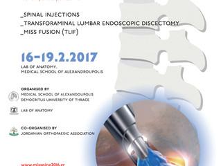International Cadaveric Course for Minimal Invasive Spine Surgery