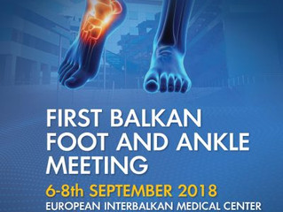 1st Balkan Foot and Ankle Meeting