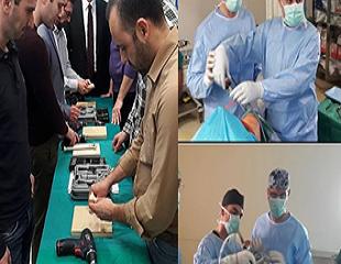 Μαθήματα σε Προπλάσματα & Ζωντανά Χειρουργεία 2017-18