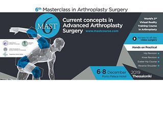 7th Masterclass in Arthroplasty Surgery