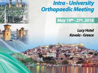 10ο Ελληνοτουρκικό Διαπανεπιστημιακό Ορθοπαιδικό Συνέδριο