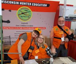 Volunteers at the Madison Area Deer