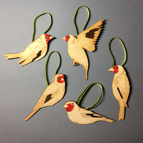 Goldfinch Decorations