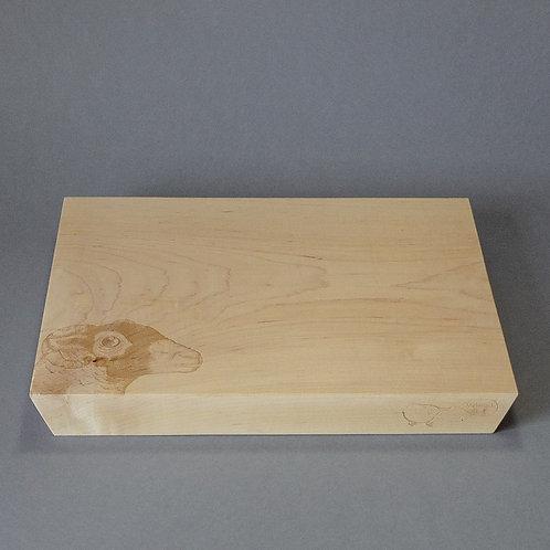 The Swaledale Ewe, bevelled board