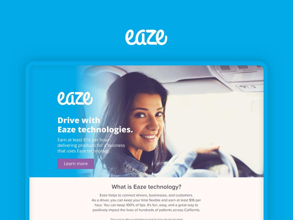 Eaze Growth Marketing Campaign