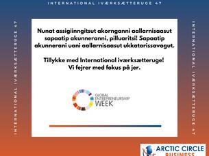 Nunat assigiinngitsut akornganni aallarnisaasut sapaatip akunnerat / International iværksætteruge