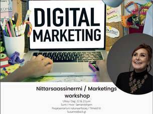 Nittarsaassinermi / Markedsførings workshop
