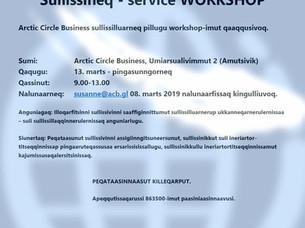 Sullissineq - Service workshop