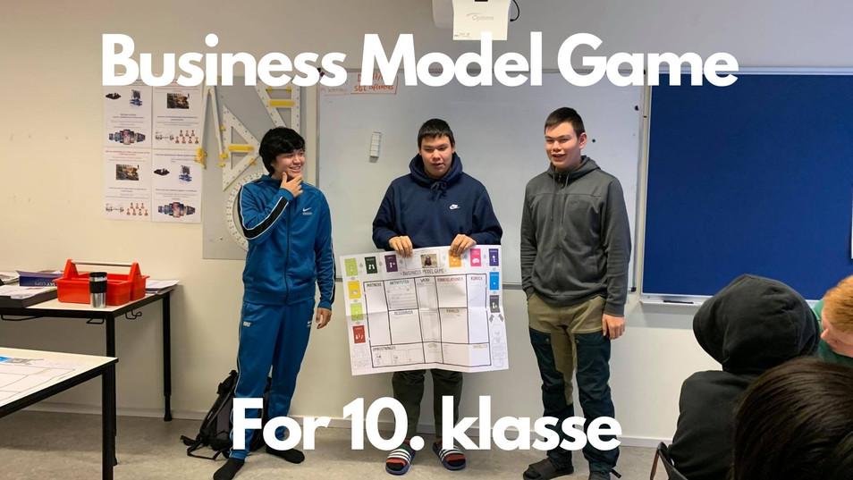 Business Model Game for 10. Klasse