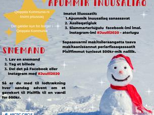 Juullimi unammisitsineq / Julekonkurrence