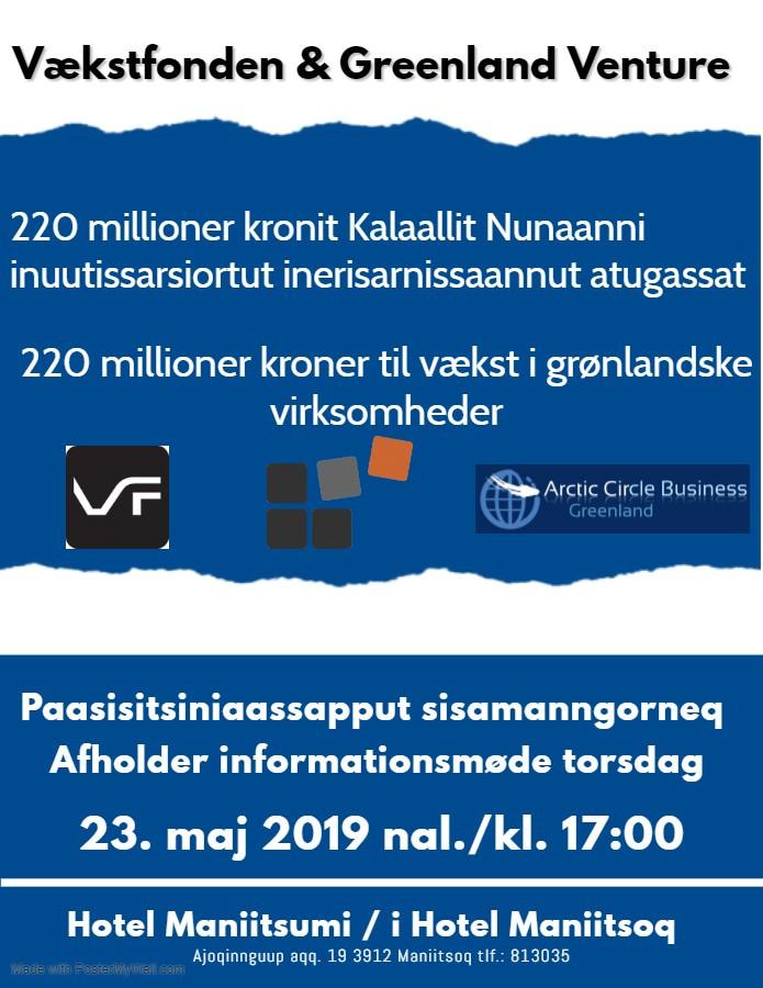 Vækstfonden & Greenland Venture, Maniitsoq