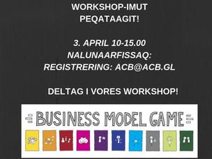 Workshop-imut peqataagit! Deltag i vores Workshop!