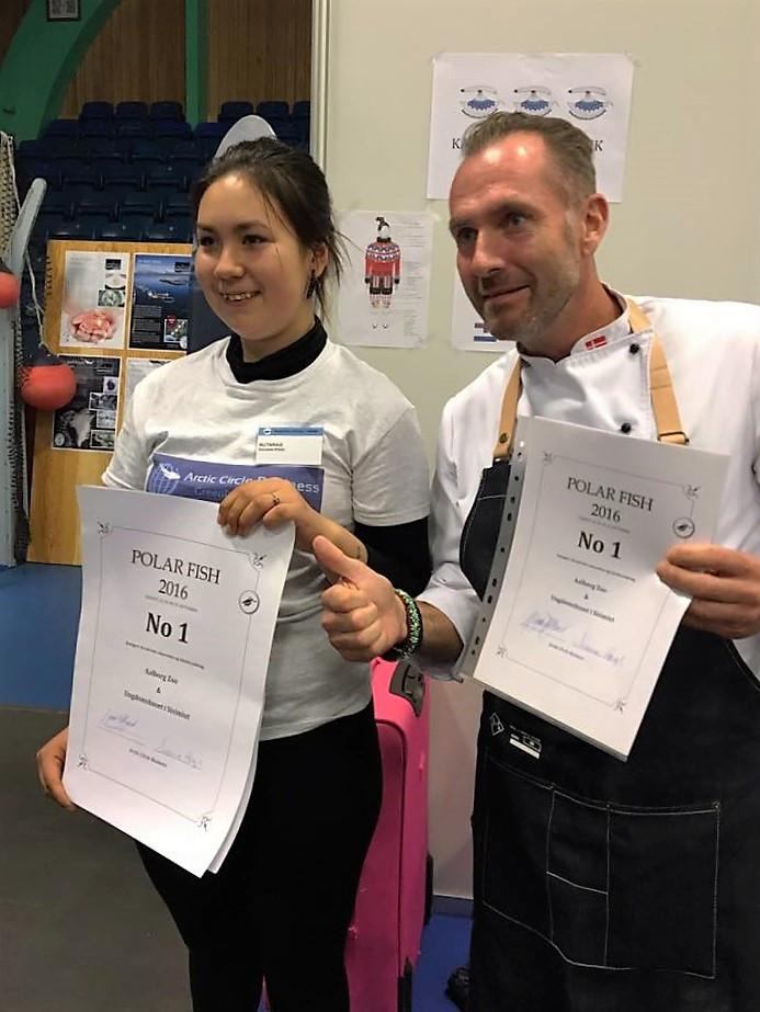 Vinderne af kategori : Kreativitet, innovation og lokalforankring, blev vinderne fra Aalborg Zoo & Undomshuset Nutaraq i Sisimiut