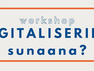 Digitaliseringsworkshop d. 5. Nov. kl. 08.45-11.45