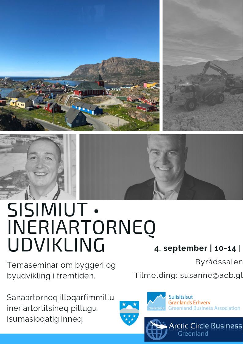 Arctic Circle Business, GE Sisimiut & Qeqqata Kommunia qaaqqusipput/ Inviterer: