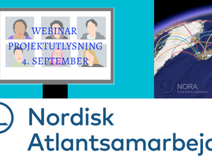 Webinar om projektstøtte fra NORA 04. september 2020