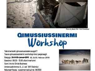 Qimussiussinermi Workshop - Ullui allannguuteqarput / Dato ændring