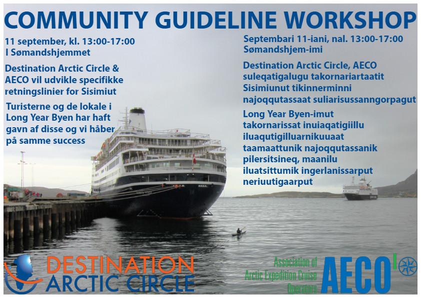 Community Guideline workshop